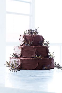 Chocolate Wedding Cakes More