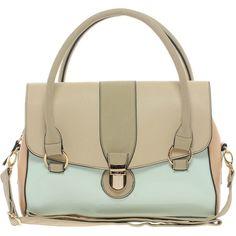 Oasis Clean Barrel Bag In Colourblock (£35) ❤ liked on Polyvore featuring bags, handbags, shoulder bags, multi, purses, barrel bags, zip shoulder bag, man bag, kiss-lock handbags and handbag purse