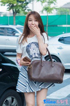 She is sooo cute help me😍😍😍😍 Korean Fashion Minimal, Korean Fashion Kpop, Korean Fashion Dress, Korean Dress, Girls Day Minah, Girl Day, My Girl, K Pop, Girls Day Members
