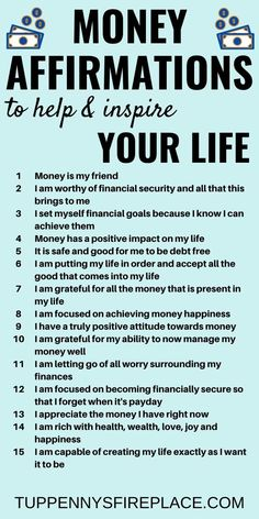 I love these positive money affirmation mantras. Do these every day and watch how the law of attraction will manifest itself in your life. Practice gratitude and be grateful for the wealth you already have. No need to be a lottery winner, you can win with Affirmations Positives, Positive Affirmations Quotes, Wealth Affirmations, Morning Affirmations, Law Of Attraction Affirmations, Affirmation Quotes, Quotes Positive, Positive Mindset, Deep Meaningful Quotes