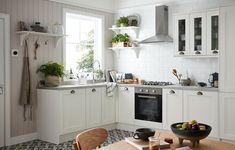 Looking to brighten your existing kitchen? Our shaker-style alpinia range combines neutral tones with different textures to bounce light around and create a feeling of space. Kitchen Knobs, Shaker Kitchen, Diy Kitchen, Kitchen Design, Kitchen Cabinets, Ikea Kitchen Remodel, Small Space Kitchen, Small Spaces, L Shaped Kitchen
