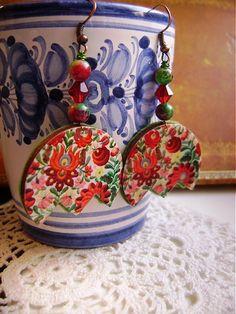 Tulip Resin, Coin Purse, Purses, Wallet, Earrings, Tulips, Handbags, Ear Rings, Stud Earrings