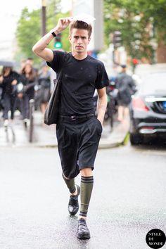 love this leg warmer shorts combo Pelayo Diaz by STYLEDUMONDE