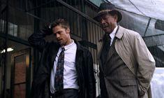 90s Movies, Movies To Watch, Good Movies, Seven 1995, Se7en, Best Movie Posters, Morgan Freeman, Film Director, Film Stills