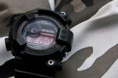 CASIO G-SHOCK REAL BLACK FROGMAN DW-8200BK-1JF