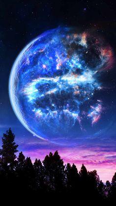 Dead Star In Sky - IPhone Wallpapers