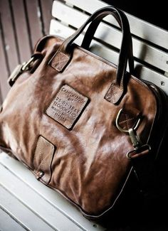 Leather Bag Gentleman s Essentials f18caa1d29352