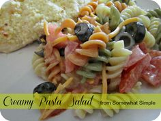 Creamy Pasta Salad (Plus a Giveaway)