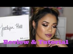 JACLYN HILL X MORPHE PALETTE | REVIEW + TUTORIAL | FRITZIE TORRES - YouTube