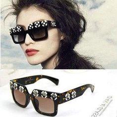 Wholesale Sunglasses - Buy 2014 Fashion Vintage Retro Big 3D Flower Eyes Sunglass Sunglasses Sun Glasses for Women Brand Designer Oculos De Sol 140302, $28.09 | DHgate