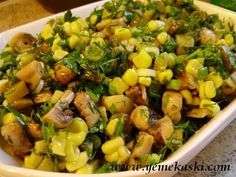 Mushroom Salad - Delicious Meets Healthy: Quick and Healthy Wholesome Recipes Healthy Eating Tips, Healthy Recipes, Turkish Salad, Turkish Recipes, Ethnic Recipes, Dash Diet Recipes, Mushroom Salad, Vegetable Drinks, Middle Eastern Recipes