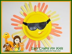 You Will Really Be Using Your Hands With These Free Summer Crafts