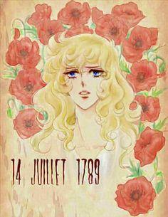 Lady Oscar and poppy, from:よろずらくがき帳 Oscar Cartoon, Anime Chibi, Manga Anime, Lady Oscar, Old Anime, Character Sketches, Hippie Art, Fantasy Illustration, Candy Lady