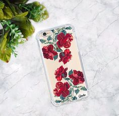 red rose summer design silicon cover high quality case https://gisolo.com/en/clear-rose.html