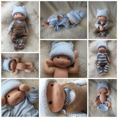 Nurture baby - ivaDolls on Etsy LOVE this cute little baby doll <3