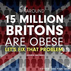 Obese Briton!