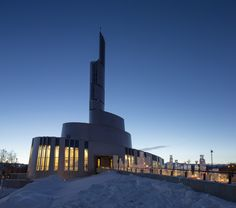 Cathedral of the Northern Lights, Alta, Norway, SHL Architects + LINK arkitektur