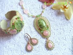 """Купить """"Нежность весеннего утра""""  - весна, нежность, розовый, подарок девушке, салатовый, пастель, свежесть"""