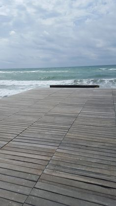 Ostia Beach - La Vecchia Pineta - August 215 (picture taken by Laura Tolomei) August 24, Sea Waves, Some Pictures, Sidewalk, Beach, Color, Style, Ocean Waves, Swag