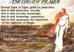 Druid Prayer