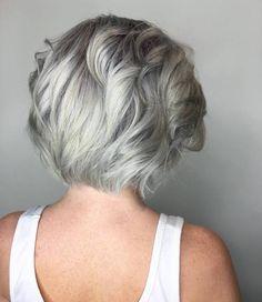 50 Gorgeous Grey Hair Styles