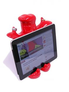 Best thing I have ever bought for in the kitchen!! Howards Storage World | Claude Recipe / iPad Holder Red