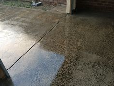 Our Flooring team may use a high quality filler to even surface. Please note we only use high grade diamond or resin pads to expose the true concrete stone and desired custom level.