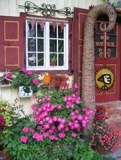 haus und garten galerie - birdman hans langner aus bad tölz   art, Garten und Bauen
