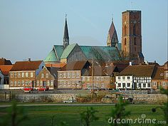 View on Ribe, Denmark