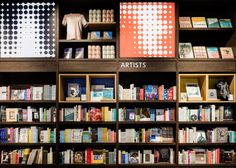 """Uxus designs """"permanently temporary"""" Tate Modern gift shop"""