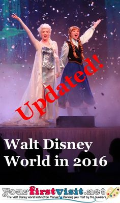 If you're planning a visit to Walt Disney World in 2016 . you'll want to check out this post. Disney World Tips And Tricks, Disney Tips, Disney Fun, Disney Travel, Disney Vacation Planning, Disney World Planning, Vacation Planner, Trip Planning, Disney World Florida