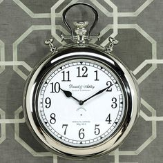 I pinned this Tribeca Wall Clock from the Zodax event at Joss and Main!