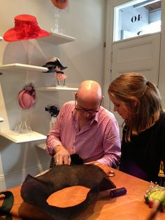Sew Tessuti Blog - Sewing Tips & Tutorials - New Fabrics, Pattern Reviews: Neil Grigg's Hat Making Masterclass