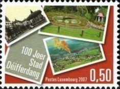 Sello: Differdange (Luxemburgo) (Centennial Towns) Mi:LU 1746,Sn:LU 1213,Yt:LU 1696,WAD:LU025.07