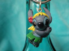 Disney Stitch hula dancer keychain by ImAsMADaSaHaTTeR on Etsy, $5.00