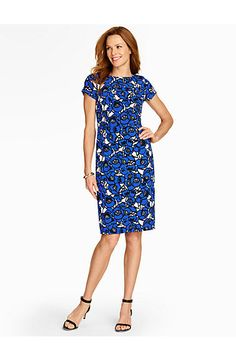 POPPY-LACE PRINT SHEATH Item # C144686 ★★★★★ ★★★★★ 5 out of 5 stars. Read reviews. 5.0 (2) $159.00Poppy-Lace Print Sheath - Talbots
