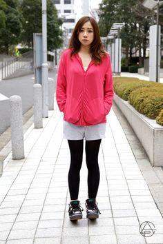 pink x gray x black