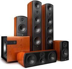 Check out the Verus family in the Aperion lineup, made with the highest quality components for the ultimate performance in home theater and audio. Home Speakers, Stereo Speakers, Hifi Audio, Speaker System, Audio System, Home Theater Surround Sound, Av Receiver, Best Home Theater, Home Cinemas