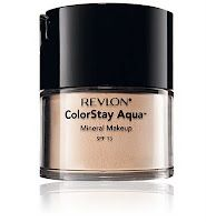 revlon colorstay aqua; It worlks, BUT get a semi darker shade then your natural skin tone and use a powder brush (: