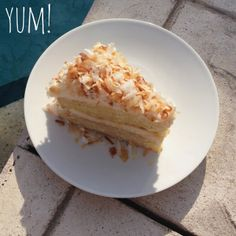How To Make: A Super Easy Coconut Cake, Mmm!