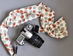 Scarf Camera Strap  Amy Butler Modern Midwest  by TheSweetStrap, $20.00