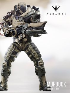 Murdock from Paragon