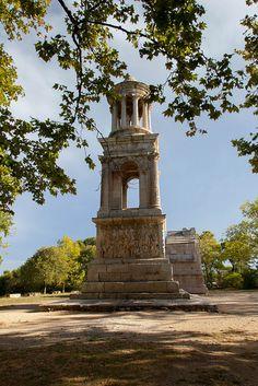 France, Bouches-du-Rhône, St-Rémy-de-Provence, Site de Glanum