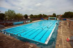 The swimmer: a journey across London's ponds and lidos – in pictures