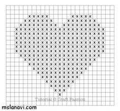 сердце узор спицами - Поиск в Google