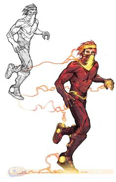 DC Comics' JUSTICE LEAGUE 3000 - Superhero Character Designs - News - GeekTyrant