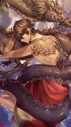 As the Draconem grow older, they have to undergo a ritual. You can choose a motif and a place and get a tattoo under the skin. This tattoo can even be seen when they are in their dragon form amor boy dark manga mujer fondos de pantalla hot kawaii Manga Anime, Anime Yugioh, Anime Pokemon, Art Manga, Fanarts Anime, Hot Anime Boy, Anime Sexy, Anime Sensual, Cute Anime Guys