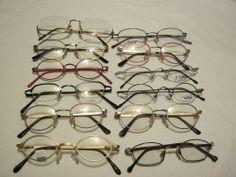 Restposten: 12 Brillenfassungen verschiedener Hersteller. Posten Nummer 5