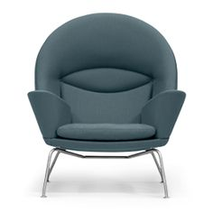 A comfortable armchair - Oculus/CH468 - Designed by Wegner and manufactured by Carl Hansen & Søn