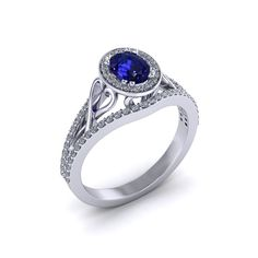 This Ladies Oval Sapphire Ring is beautifully crafted with open heart detail. Sapphire and gemstone rings can be created in white, yellow, rose, or platinum precious metals at Jewelry Designs' Danbury, CT workshop. Jewelry Ads, Jewelry Trends, Jewelry Design, Jewellery, Sapphire Jewelry, Diamond Jewelry, Gold Jewelry, Glass Jewelry, Jewelry Auctions